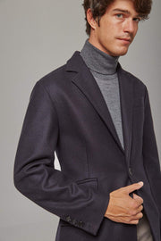 The Wool Coat Azul Marino