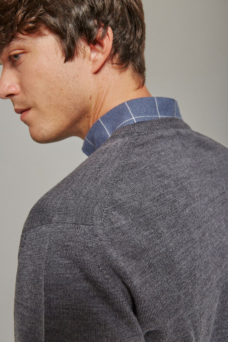 The Merino pico Gris Antracita