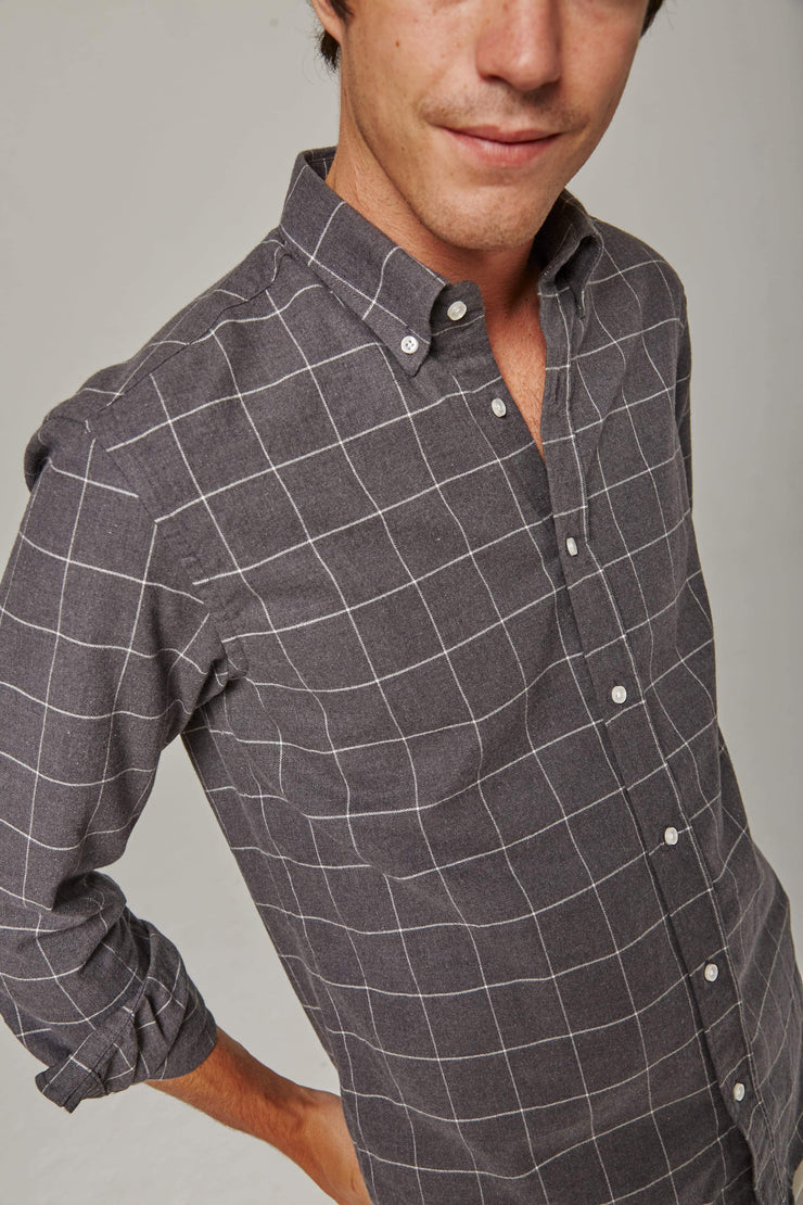 The Villela Aspen gris Slim fit