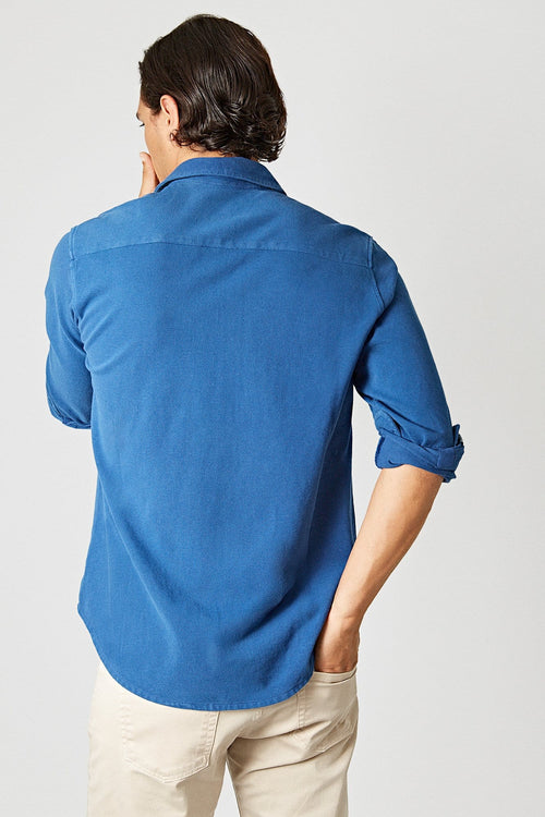 The Cotton Camisa Azul Sanabria