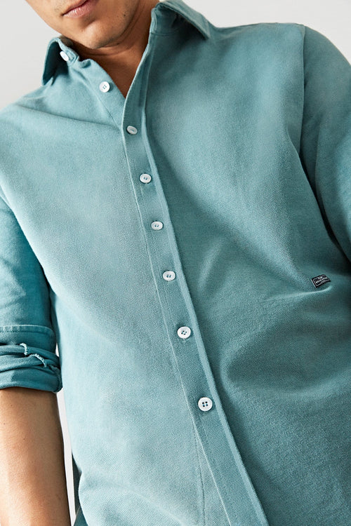 The Cotton Camisa Verde Formentera