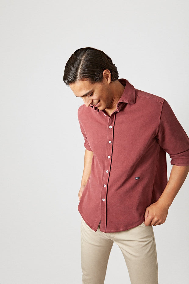 The Cotton Camisa Rioja