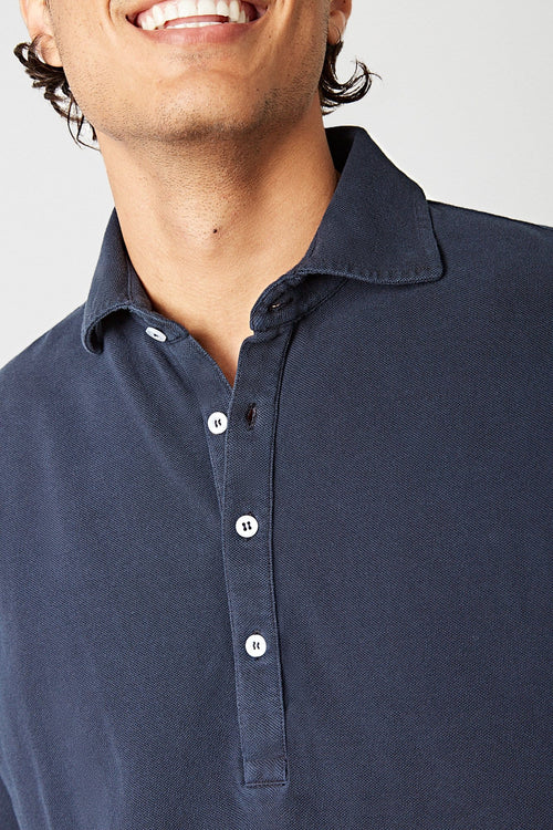 The Cotton Polera Azul Marino