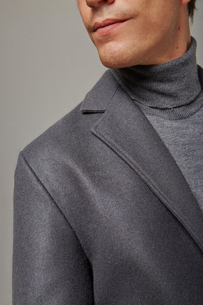 The Wool Coat gris