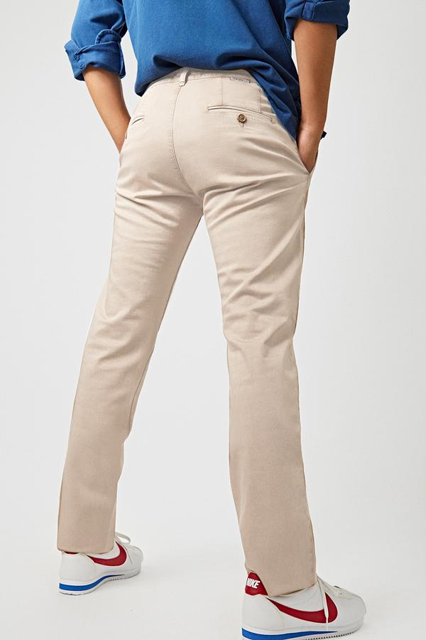 The Chino Beige Regular Fit