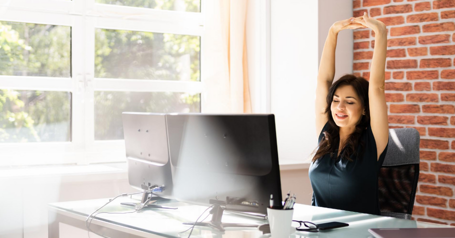 Simple Exercises You Can Do At Your Desk