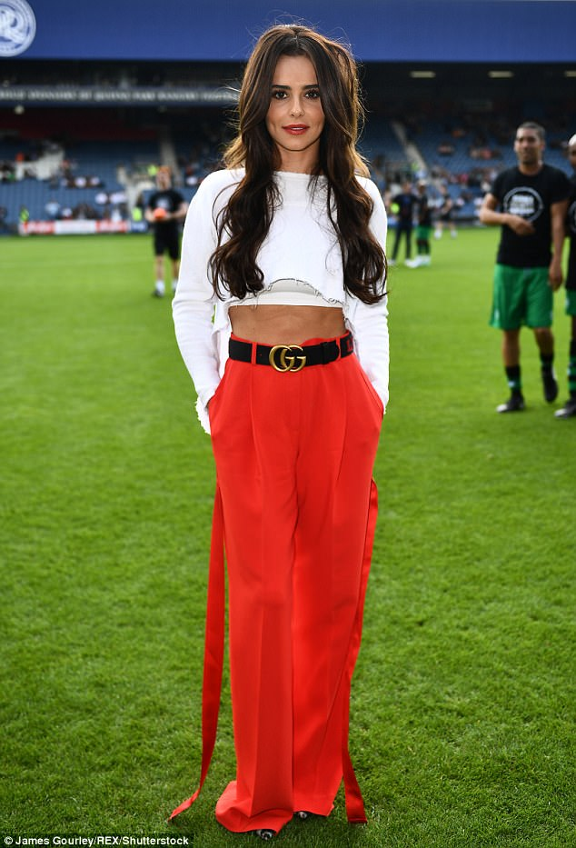 Cheryl's Givenchy Red Trousers