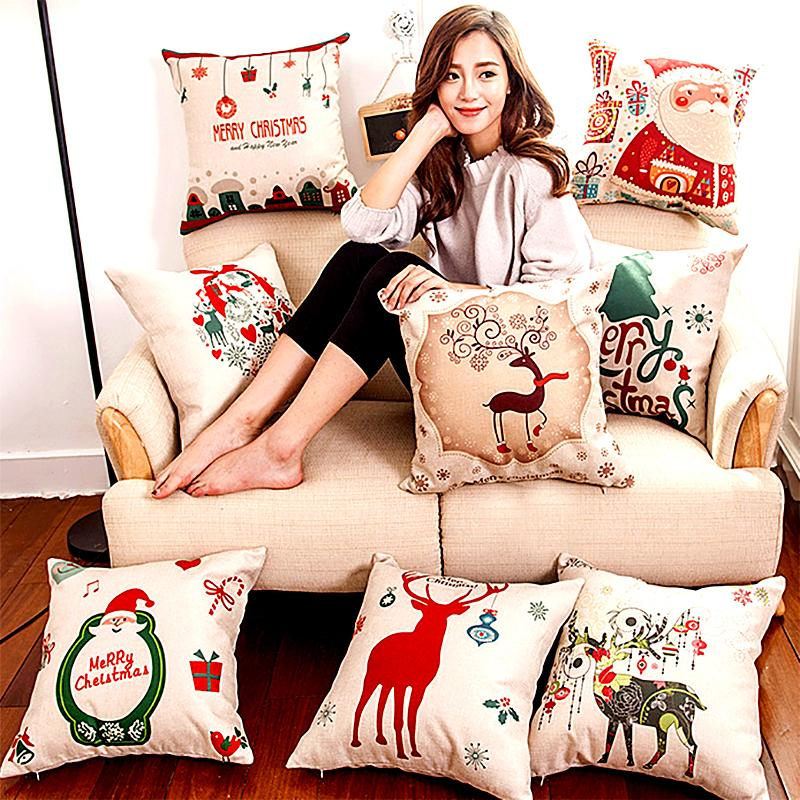 Decorative Christmas Cushion Cover