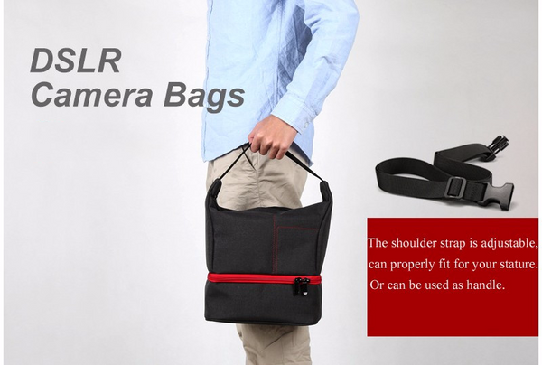 SLR Camera Bag Travel Shoulder Bag DSLR Photo Backpack