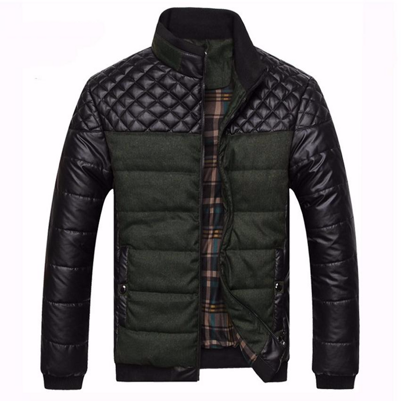Autumn Winter Men's Patchwork Jackets