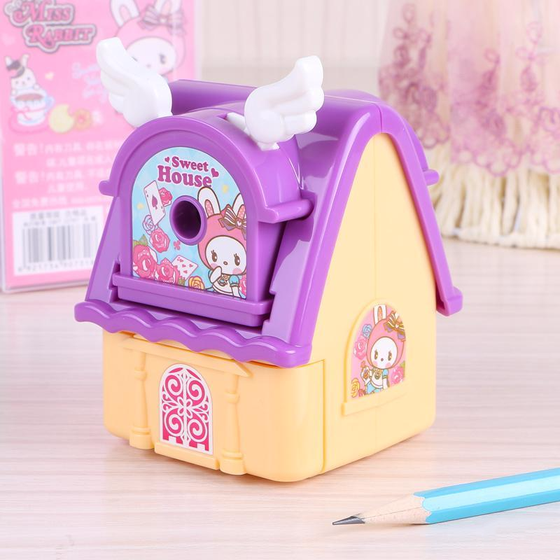 Cute Kids House Pencil Sharpener