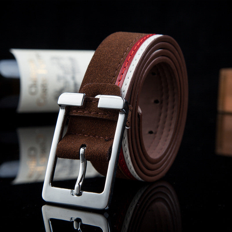 Leather Luxury Strap Belts For Men