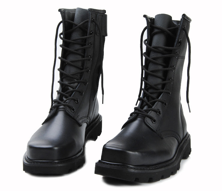 combat motorcycle boots men