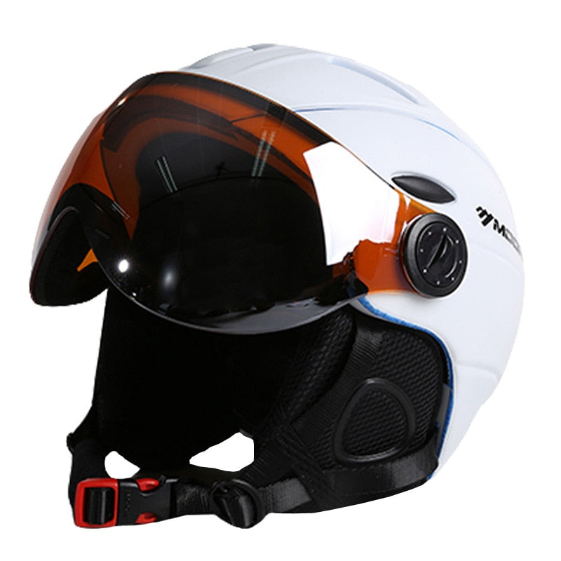 Jet Snowboard Skiing Helmet Integrally-Molded