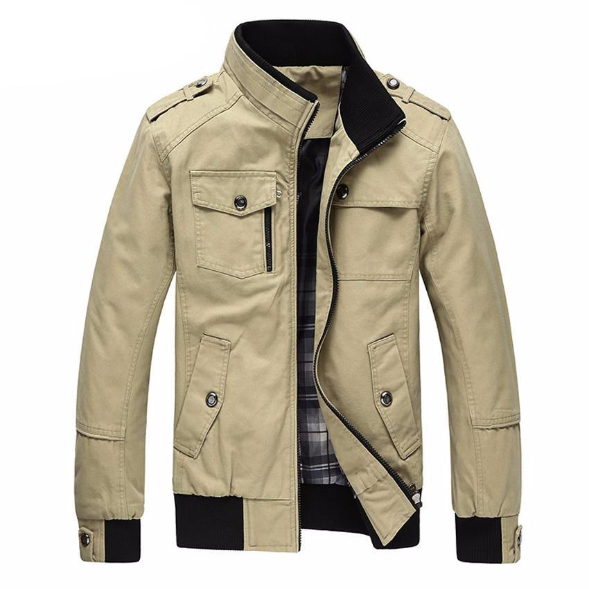 Casual Men's Spring Autumn Winter Military Jacket Coat