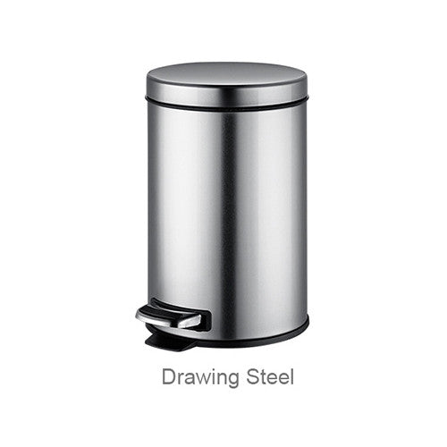 Stainless Steel Foot Pedal Pressing Waste Bin