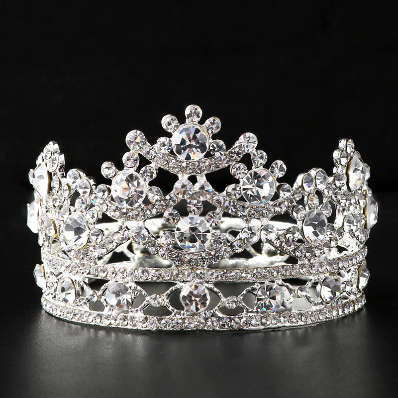 Bridal Rhinestone Crystal Tiara Hair Accessories