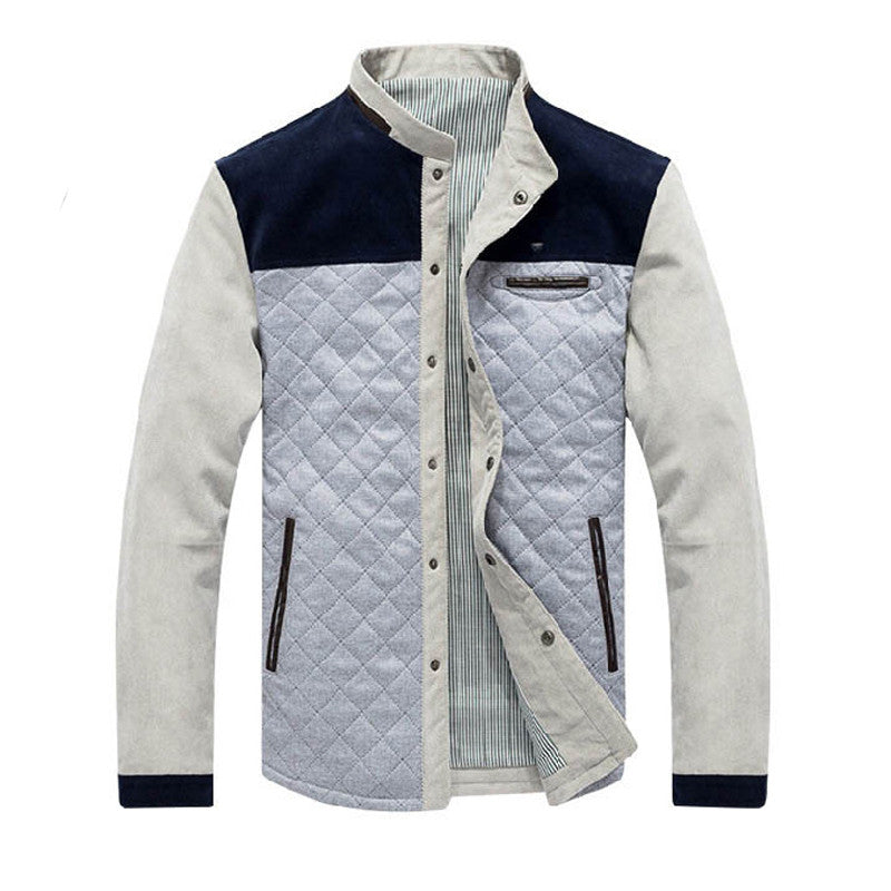 Spring Autumn Men's Casual Baseball College Jacket Coats