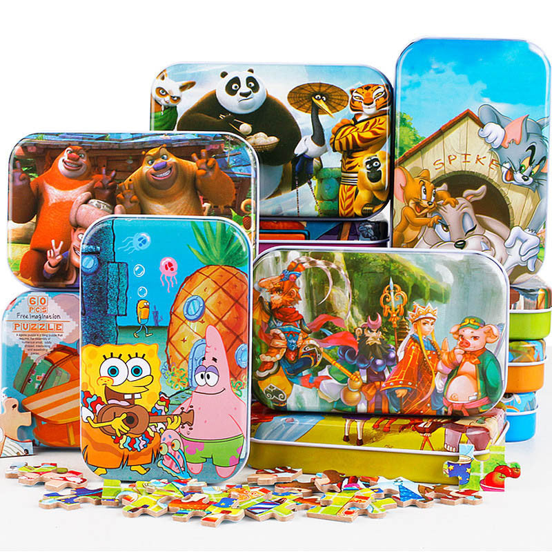 3D Wooden Jigsaw Puzzle For Children