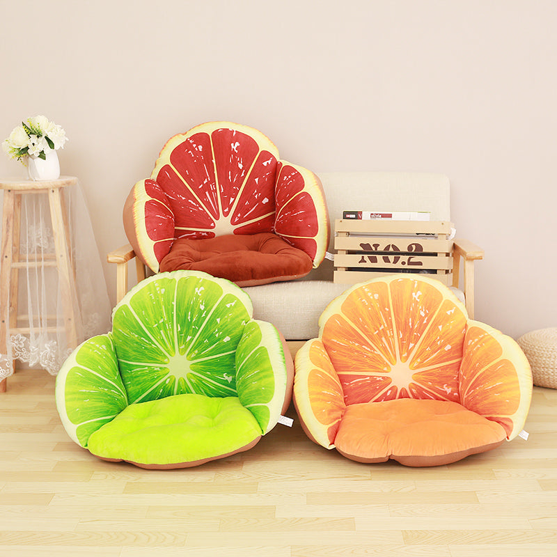 Garden Pots & Planters Fruit Cushion Fruit Cushion Fruit Seat Cushion Chair Cushion Seat Cover Throw Pillow Strawberry Style Garden Supplies