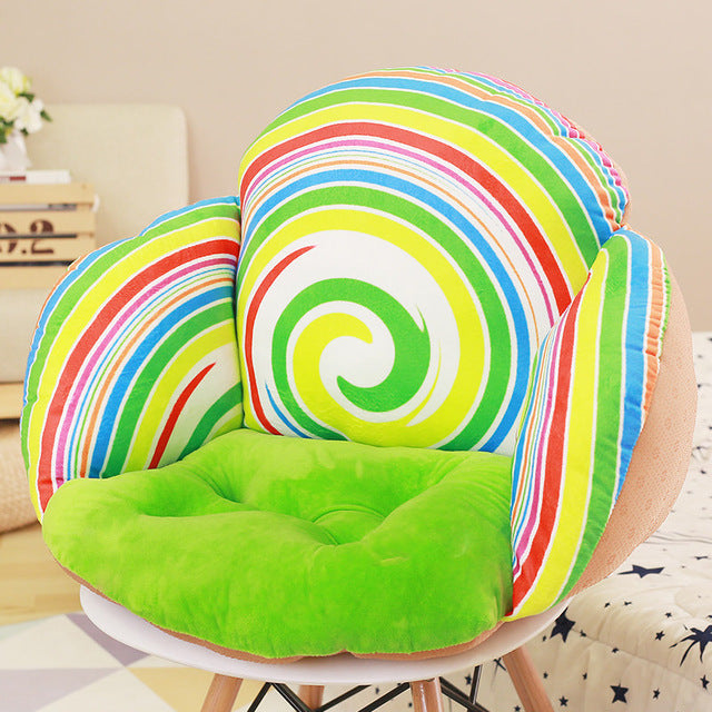 3D Fruit Print Throw Pillows Cushion