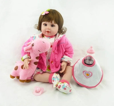Adorable 20 Inch Reborn Realistic Girl Doll