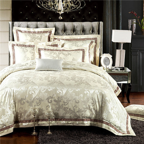 Damascus Jacquard Cotton Bedding Sets