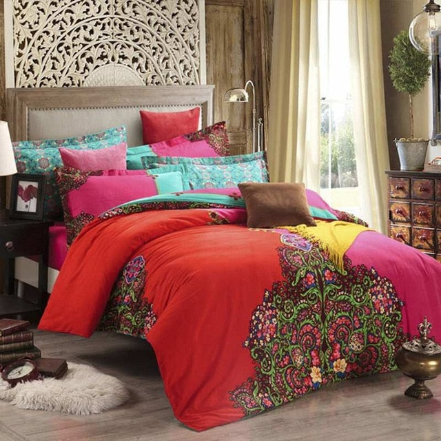 Bohemian Bedding Sets Queen King Size