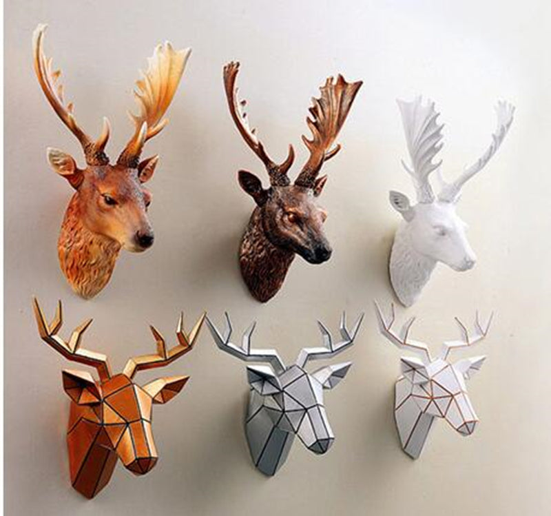 Creative Simulation Deer Head