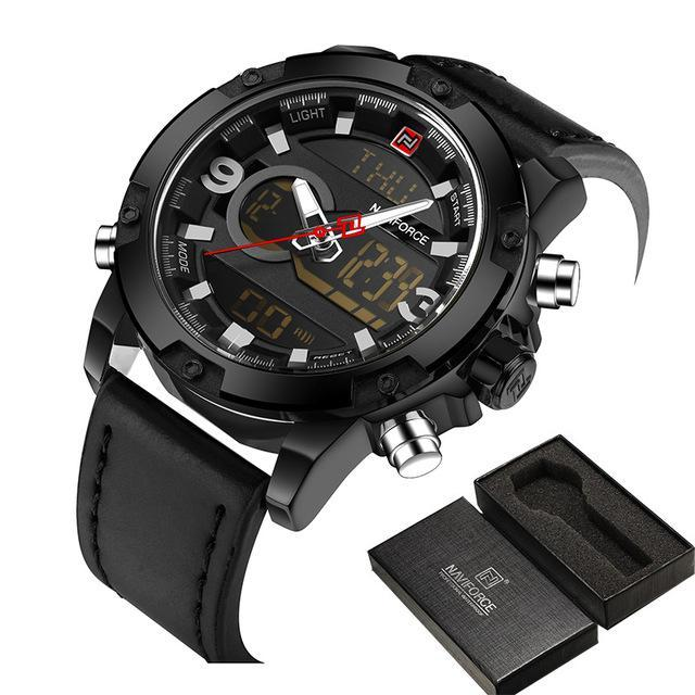 Men's Waterproof Sports Military Watch