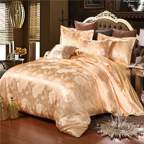 Luxury Jacquard Bedding Sets Queen/King Size