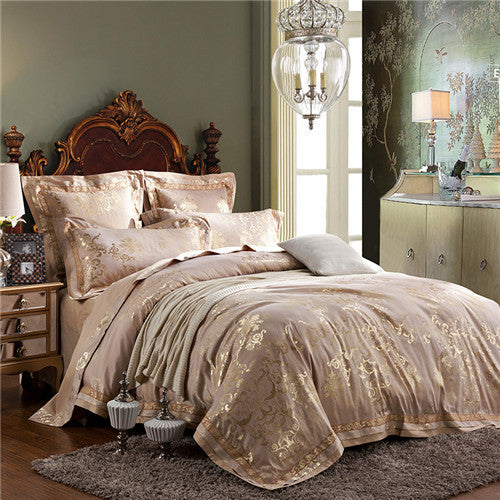 Luxury European Jacquard Bedding Sets