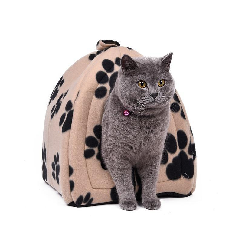 Cute Cat House Bed