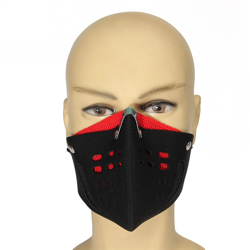 Outdoor Double Removable Dust Cold-Proof Half Face Nose Mask
