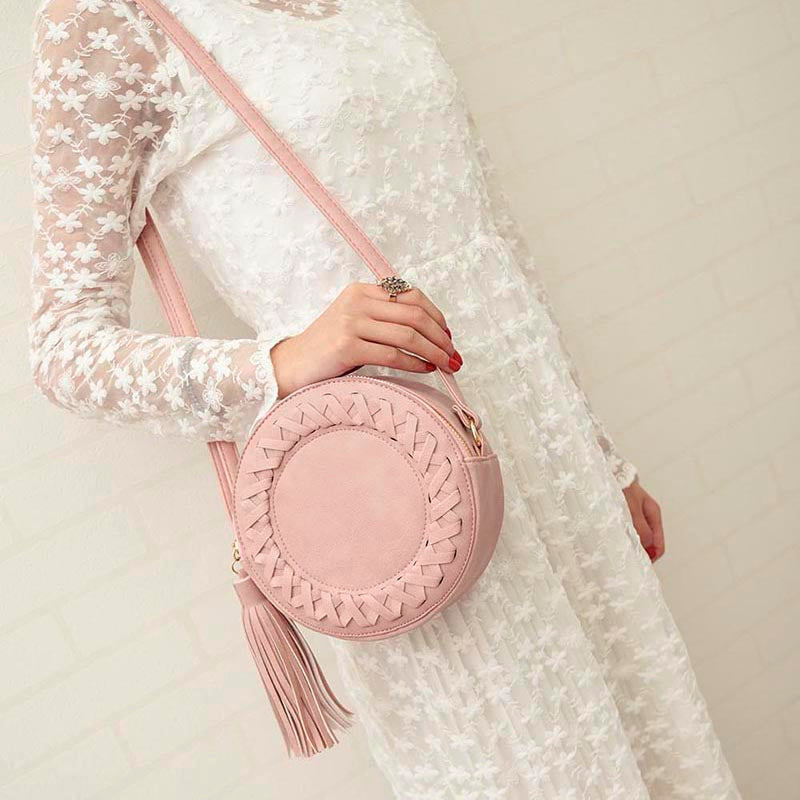 Round Women Crossbody Bags
