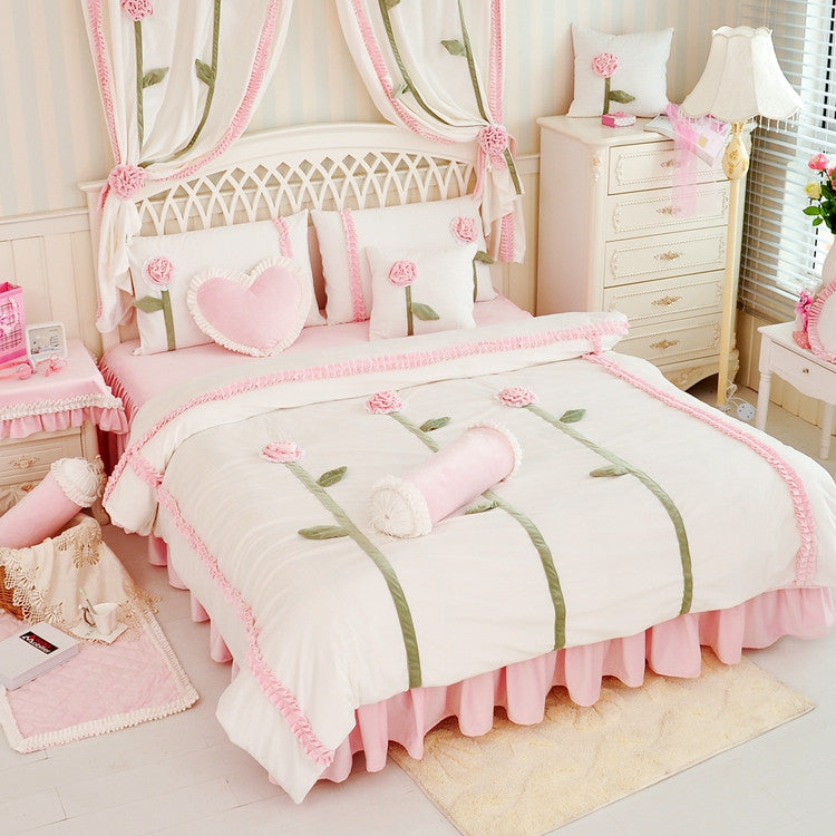 Crystal Velvet Duvet Cover Bedding Set