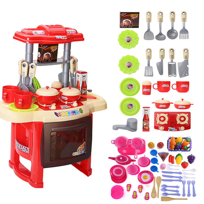 Kitchen Toys Set Children Pretend Play Role Play Set Toys