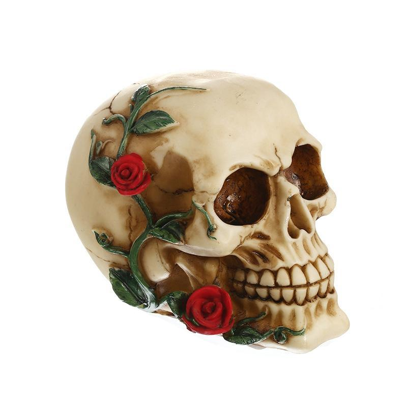 Creative Skull Statue Sculpture