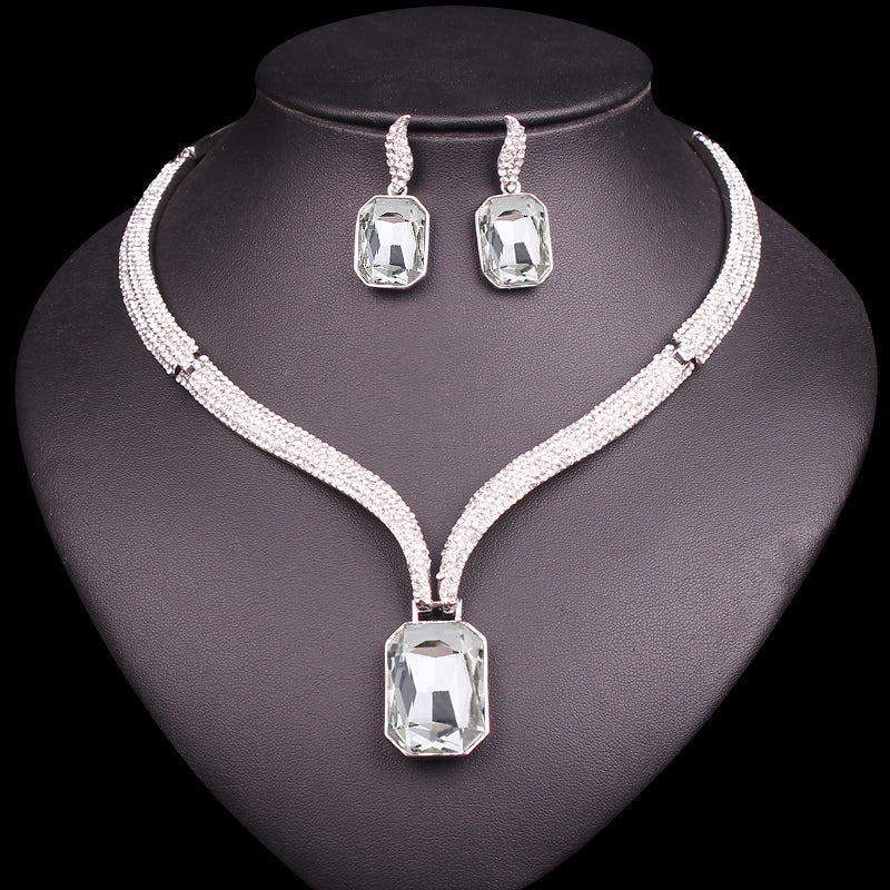 Choker Necklace Sets Bridal Jewelry Sets