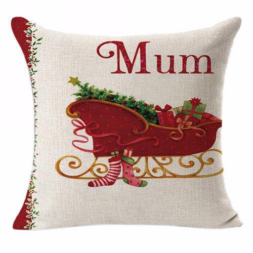 Christmas Cushion Pillow Covers