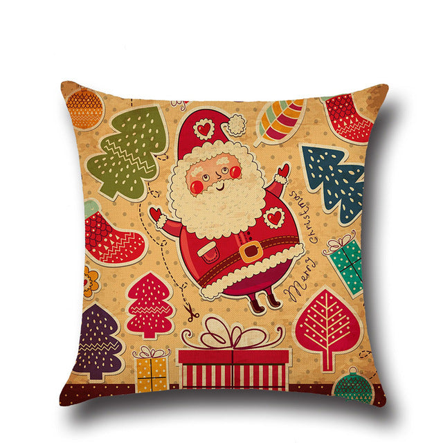Christmas Cushions Pillowcase Covers