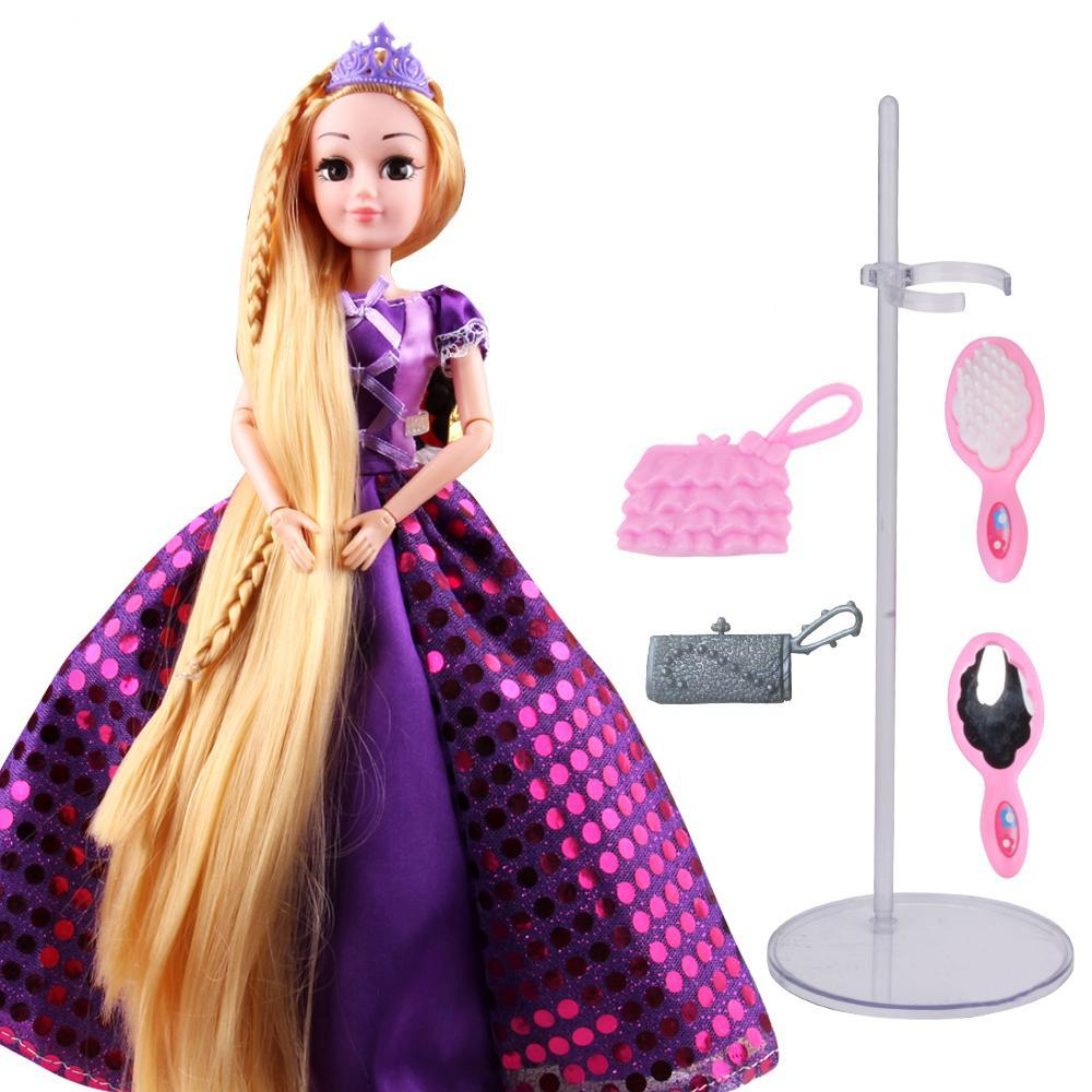 Princess Dolls Rapunzel Toys For Girls