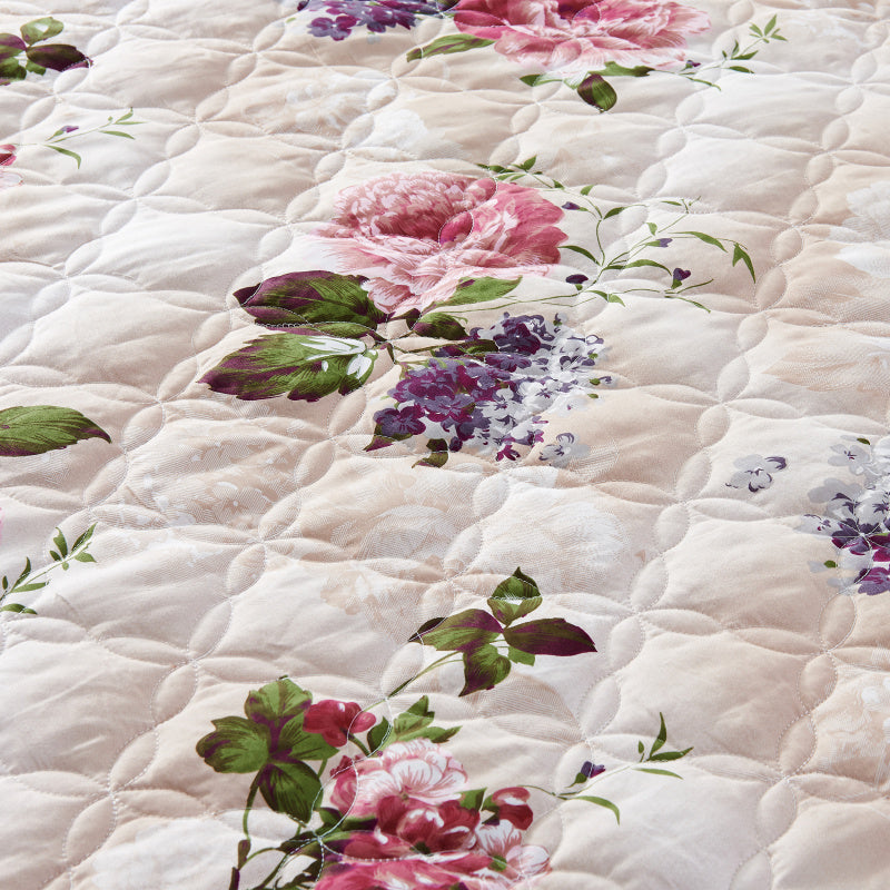 Sweet Floral Queen King Size Bedding Sets