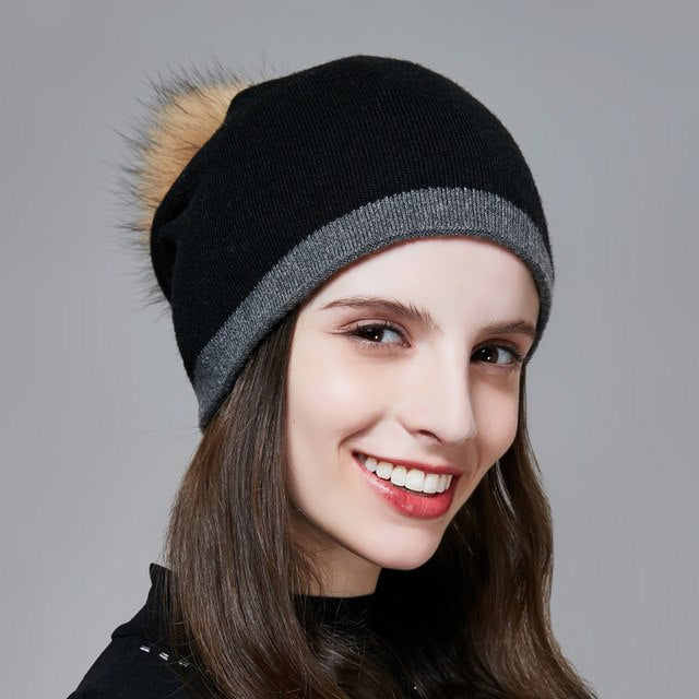 Women's Pompom Hats Beanies Winter Hats