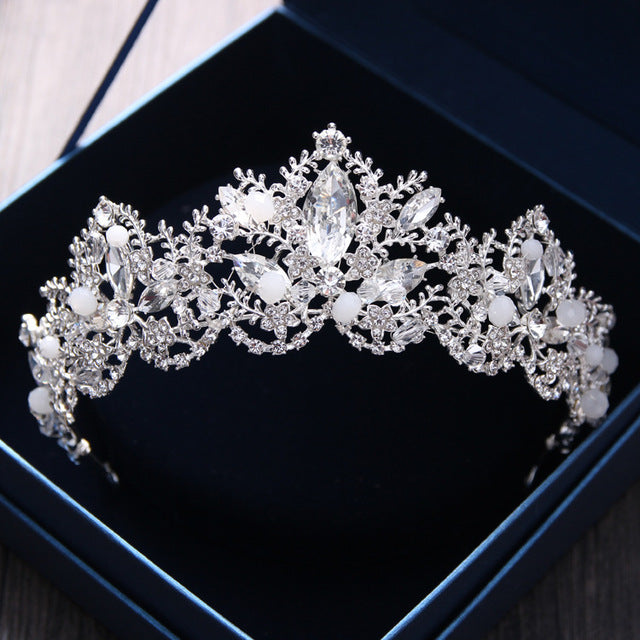 Luxury Crystal Bridal Crown Tiaras