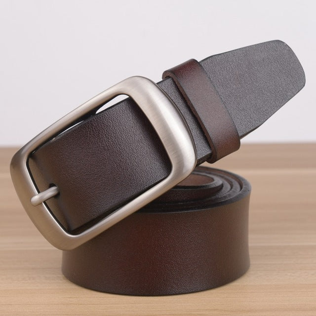 Luxury Men's Genuine Leather Belt