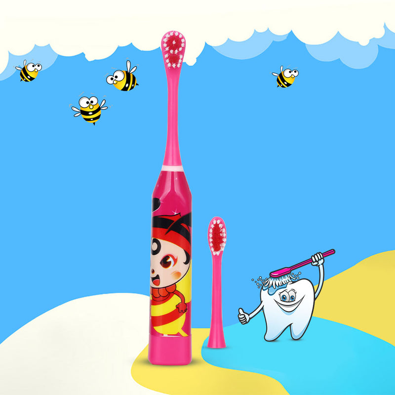 Cartoon Print Children Electric Toothbrush