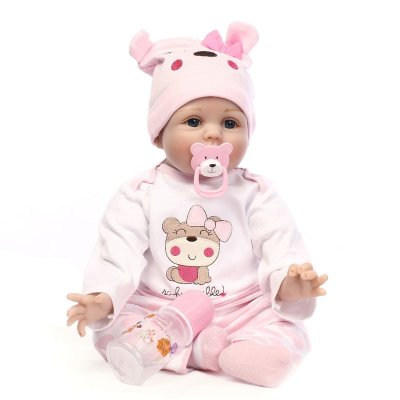 Baby Silicone Lifelike Realistic Reborn Doll