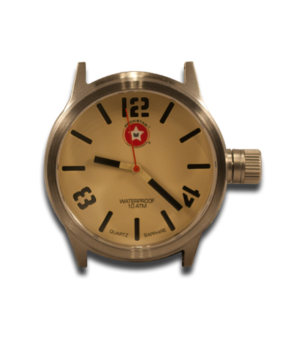 Beige 42mm Watch - Stainless Steel - Sapphire Crystal - 10ATM-Gift Certs. & Parts-Rockstar Leatherworks™