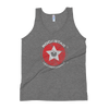 Rockstar Leatherworks™ 1-Sided Grunge Logo Tri-blend Tank Top-Rockstar Leatherworks™